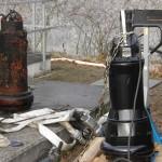 Austausch der alten Pumpen